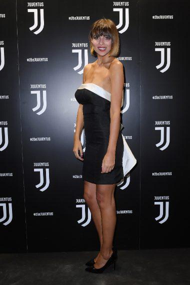 Cristina Chiabotto al party della Juventus