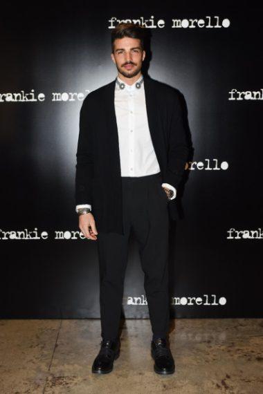 Mariano Di Vaio alla sfilata di Frankie Morello