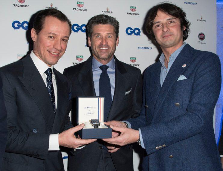 Stefano Accorsi, Patrick Dempsey e Andreas Albeck ai GQ Best Dressed Men