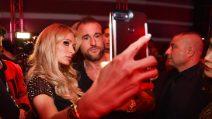 Paris Hilton alla Milano Fashion Week