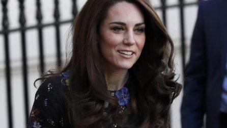I boccoli di Kate: il nuovo look della Duchessa di Cambridge