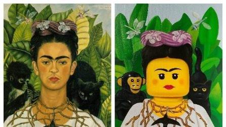 I dipinti più famosi reinventati con i LEGO