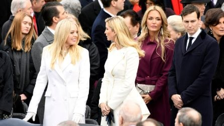 I look di Ivanka e Tiffany Trump all'Inauguration Day