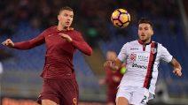 Serie A, le immagini di Roma-Cagliari