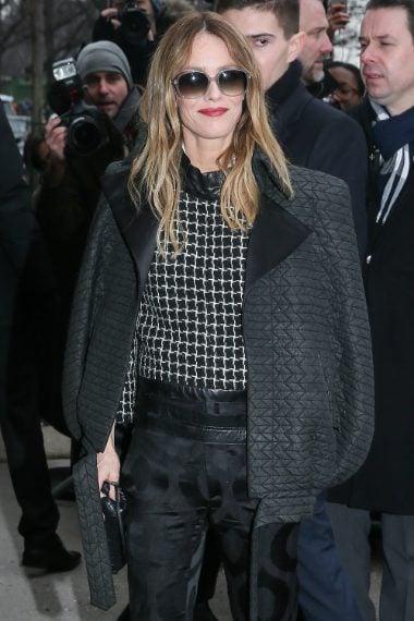 Vanessa Paradis alla sfilata di Chanel