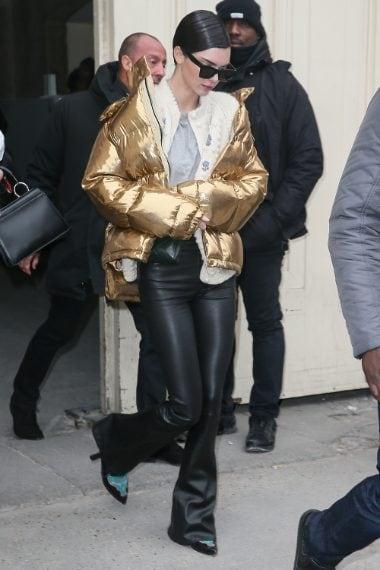 Kendal Jenner dopo la sfilata di Chanel