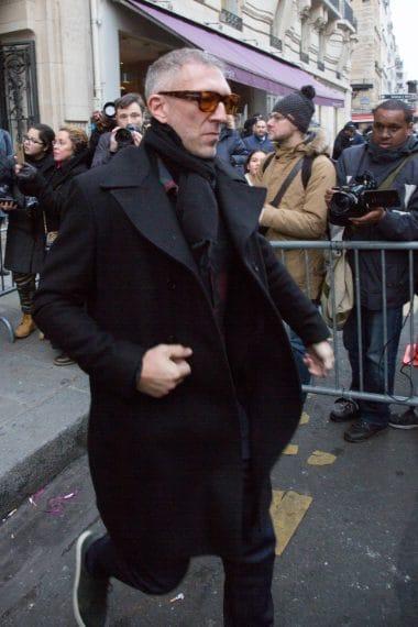 Vincent Cassel alla sfilata di Jean Paul Gaultier