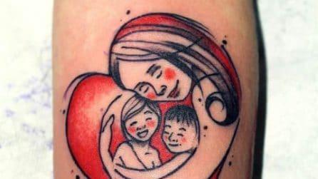 Tatuaggi per le mamme: i più belli dedicati ai figli