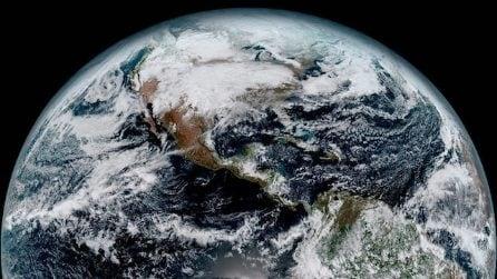 Dallo spazio, ecco le prime immagini in alte risoluzione delle Terra dal nuovo satellite GOES-16