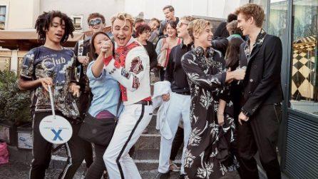 """I Millenials in posa a Capri: i """"figli di"""" sono i protagonisti della nuova campagna Dolce&Gabbana"""