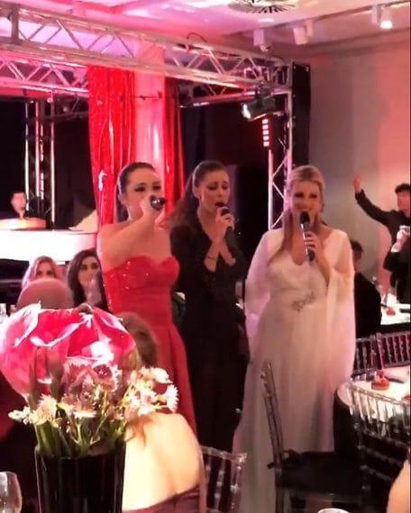 Belén, Aurora e Michelle si danno alle esibizioni canore