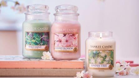 Al profumo di rosa o di viola, le candele per la primavera