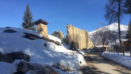 Amatrice: nuovi crolli nella chiesa di Sant'Agostino