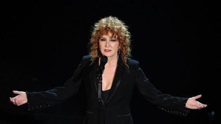 Le foto di Fiorella Mannoia al Festival di Sanremo 2017
