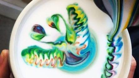 I cappuccini colorati ispirati agli unicorni