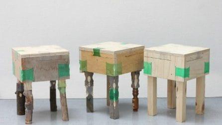Riutilizza le bottiglie di plastica come legante: un modo intelligente per riparare i mobili
