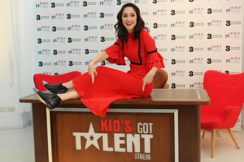 Al photocall del programma Kid's Got Talent nel 2016