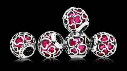 I prezzi dei gioielli Pandora per San Valentino