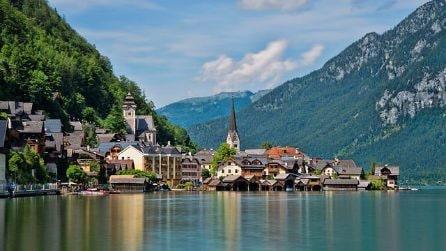 Le immagini di Halstatt, un borgo fatato in Austria