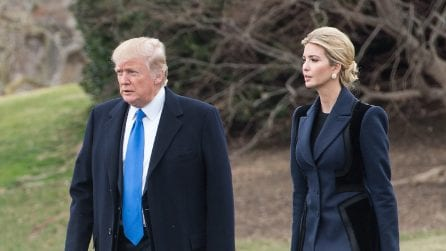 Il look di Ivanka Trump al primo impegno ufficiale