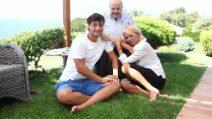 Le foto di Maria De Filippi con Maurizio Costanzo e il figlio Gabriele