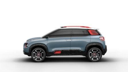 Citroen C-Aircross Concept, prove di SUV compatto