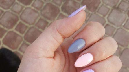 Unghie pastello: gli smalti dai colori tenui e delicati