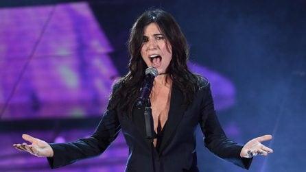 Il sexy look di Paola Turci a Sanremo 2017