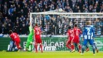 Bundesliga, Hertha Berlino-Bayern Monaco 1-1