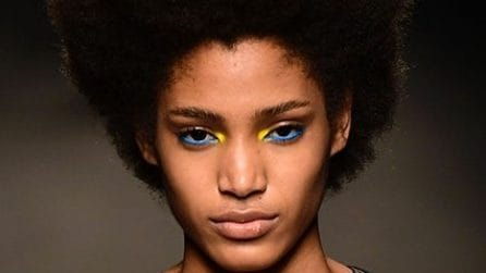 Make up colorato per l'autunno: i look della Milano Fashion Week