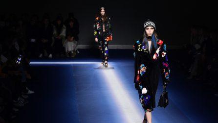 Versace collezione donna Autunno/Inverno 2017-18