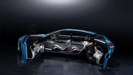 Peugeot Instinct Concept, il futuro in mostra al MWC 2017