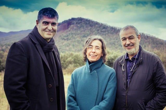Rafael Aranda, Carme Pigem and Ramon Vilalta Photo by Javier Lorenzo Domínguez
