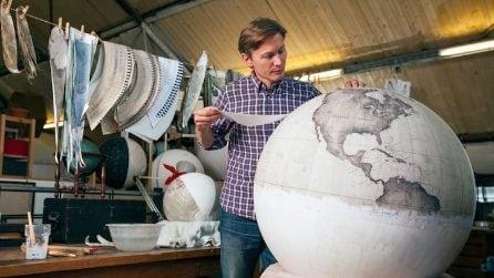 Mappamondi fatti a mano: l'arte di Bellerby & Co. Globemakers