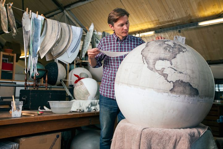 Stuart Freedman via Bellerby & Co. Globemakers