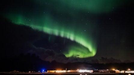 Le meravigliose immagini dell'aurora boreale in Norvegia