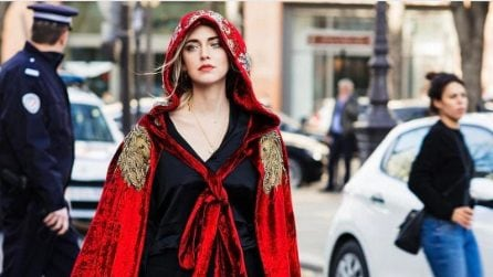 I look di Chiara Ferragni alla Paris Fashion Week