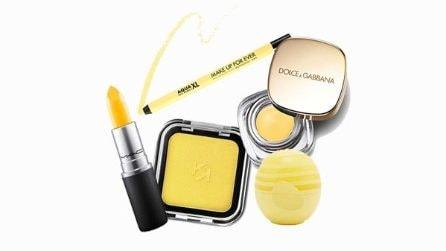 Il make up della primavera è giallo!