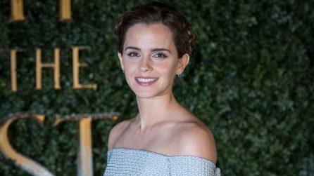 """I look di Emma Watson alle prime de """"La Bella e la Bestia"""""""