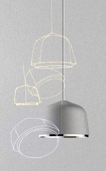 Foscarini presenta Arumi, la nuova lampada a sospensione di Lucidi Pevere: una piccola gemma in alluminio che accendendosi prende vita grazie alla rifrazione della luce sulla superficie interna, come un diamante grezzo che rivela al suo interno un cuore magico e prezioso.