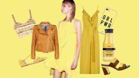 Giallo mimosa: abiti e accessori dal colore vitaminico