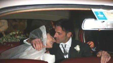 Il matrimonio di Eva Grimaldi e Fabrizio Ambroso nel 2006