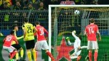 Champions, le immagini di Borussia Dortmund-Benfica