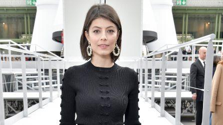 Il look di Alessandra Mastronardi alla sfilata Chanel