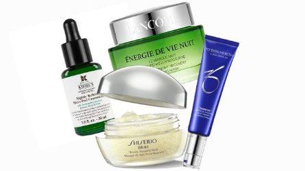 I cosmetici da utilizzare mentre dormi