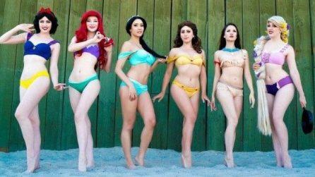 I bikini ispirati alle Principesse Disney