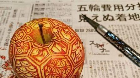 Crea incredibili sculture con la frutta: l'arte di Gaku
