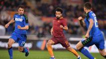 Serie A, le immagini di Roma-Sassuolo