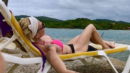 Paola Barale in Honduras