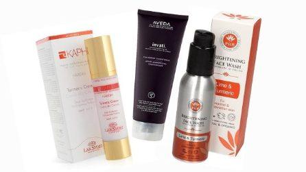 I prodotti beauty a base di curcuma